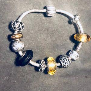 Who doesn't love a fully loaded Pandora bracelet?
